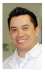 Raymond Liu, DDS in his Edmonds, WA dental office.